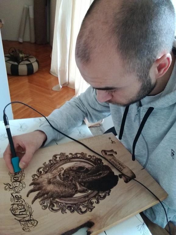 Pirograf je olovka kojom malo ko barata u Srbiji
