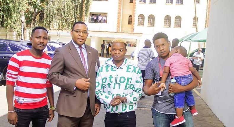 Vekta Kenya, Swaleh Mdoe , Enock Bella and Gospel singer Kizo B