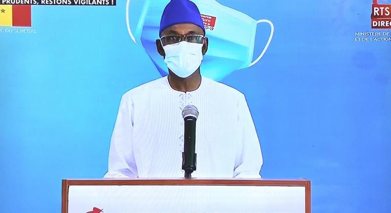 Communiqué télévisé sur la situation journalière de la Covid-19 au Sénégal