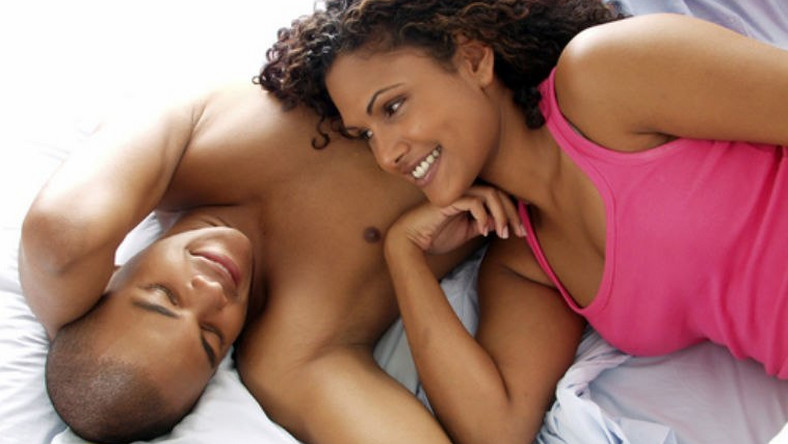Whether you're having it or not, you should talk about sex in your relationship [Credit - Shutterstock]