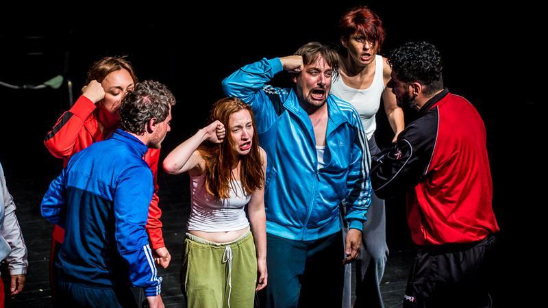 """Spektakl """"Turbofolk"""" w reżyserii Olivera Frljicia pokazywany na tegorocznej Malcie"""