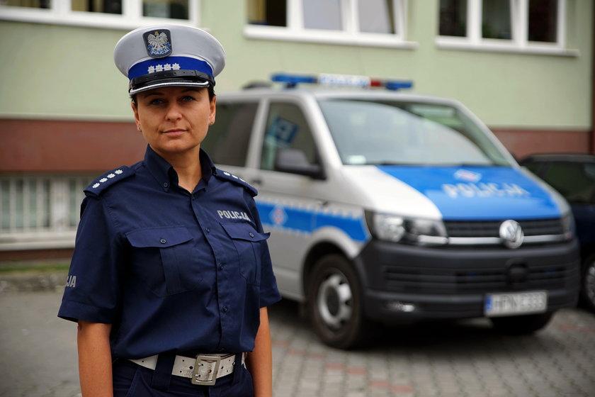 nadkom. Magdalena Ciska, wydział ruchu drogowego Komendy Miejskiej Policji w Gdańsku