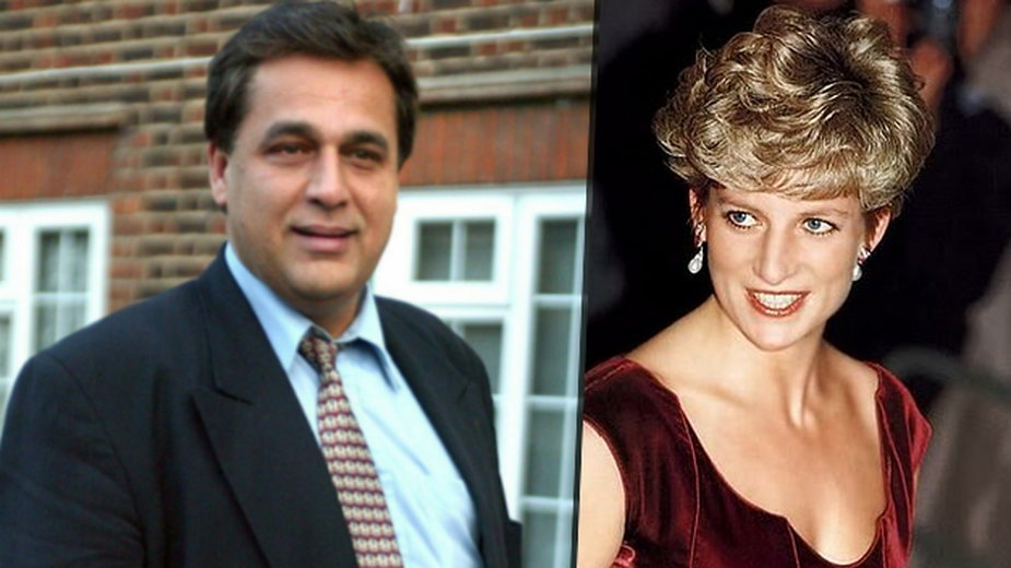 Hasnat Khan, Diana Spencer
