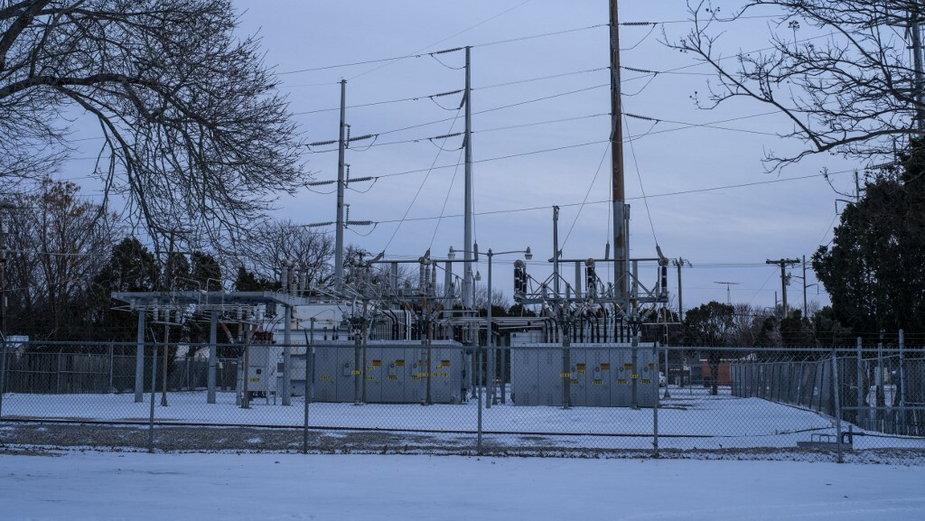 Stacja elektroenergetyczna w Teksasie, 18.02.2021 r.