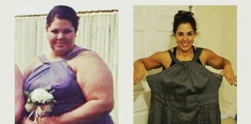 Zobaczyła te zdjęcia i postanowiła schudnąć. Niesamowita przemiana