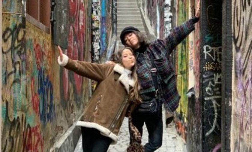 Natalia Kukulska wspólnie z córką Anną Dąbrówką spędza majówkę w Szwecji