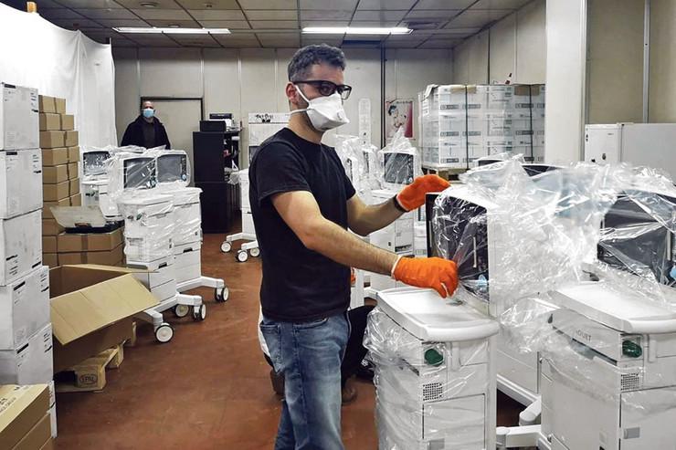 Mnogi su se odrekli dela prihoda za nabavku respiratora