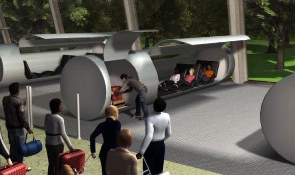 U putničke kabine moći će da stane šestoro ljudi, a biće prostora i za prtljag