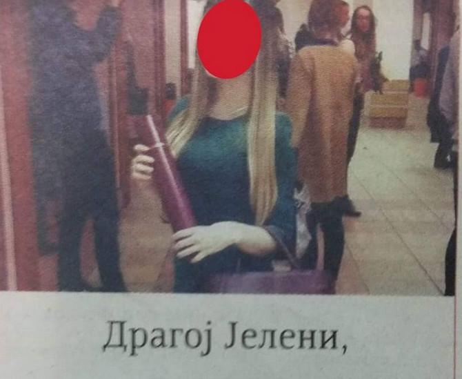 U novinama je osvanula neobična čestitka