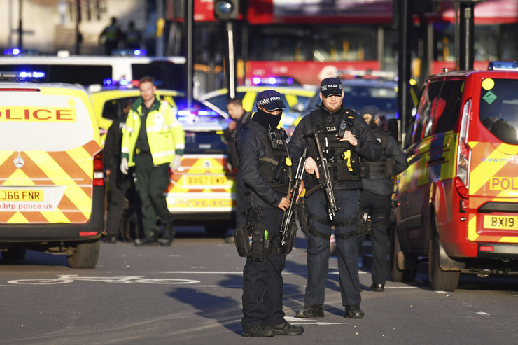 London napad most terorizam policija