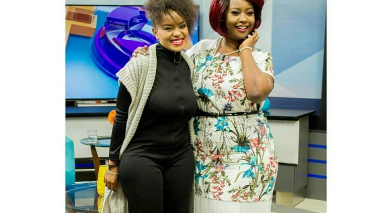 Singer Avril with Kaleyke Mumo,Avril speaks about her nude photos that were leaked online