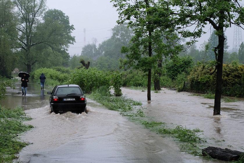Dramatyczna sytuacja powodziowa na południu Polski