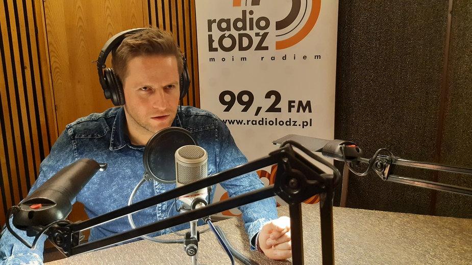 Kamil Maćkowiak głosem MPK-Łódź