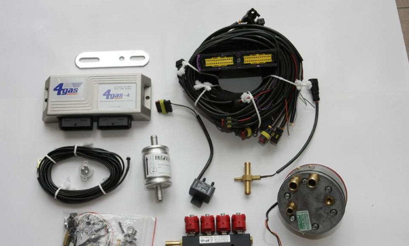 gaz, instalacja, samochód, LPG, auto