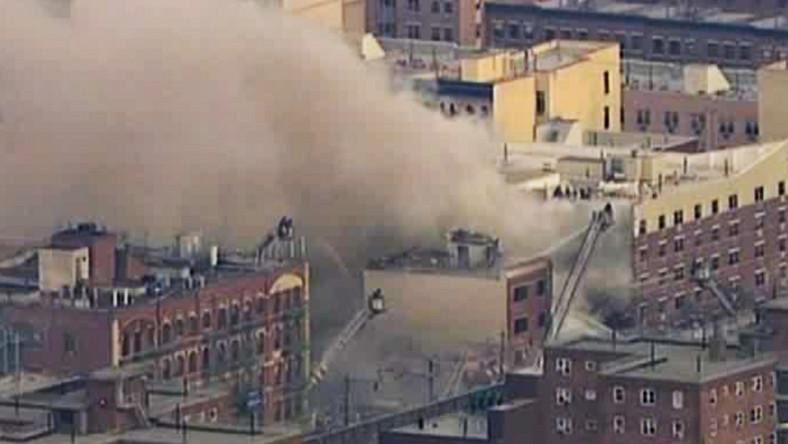 Świadkowie mówią, że przy skrzyżowaniu 116 ulicy i Park Avenue na Manhattanie doszło do głośnej eksplozji.