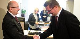Marcin Krupa zajął gabinet Piotra Uszoka
