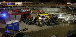 Wypadek na budowie II linii metra. Nie żyje jedna osoba