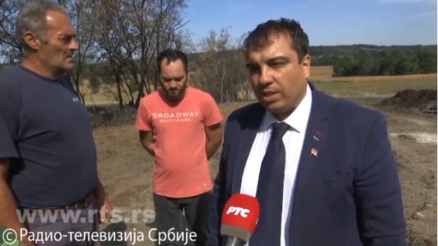 Predsednik Opštine Rekovac Aleksandar Đorđević