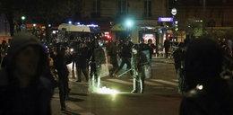Zamieszki w Paryżu. Podpalone samochody i regularne walki z policją. Są ranni