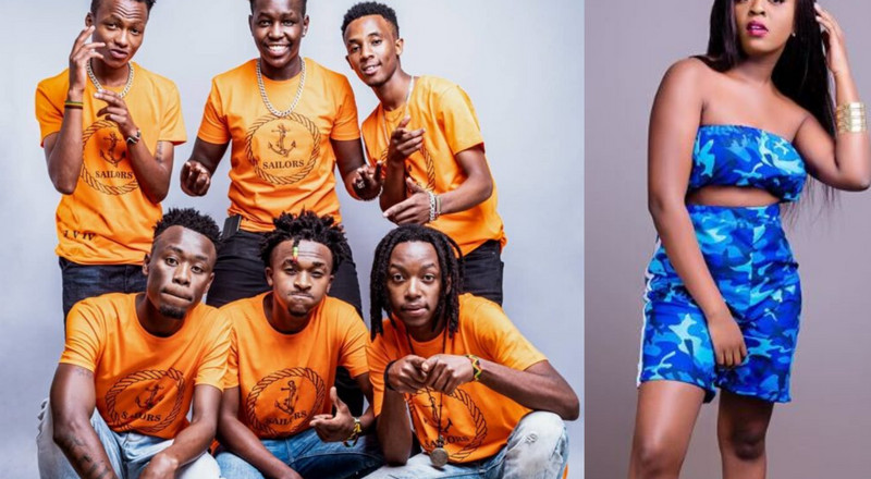 "Nadia Mukami teams up with Sailors on ""Ni Tekenye"" and it's a Big tune (Video)"