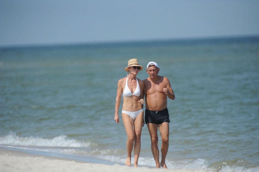 Jan Englert i Beata Ścibakówna