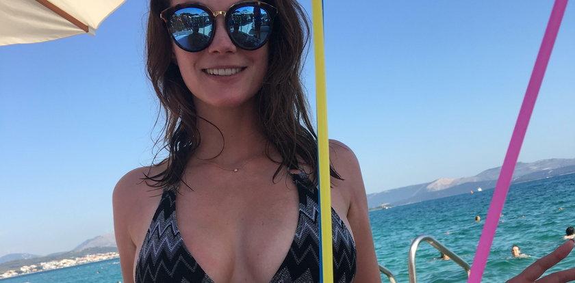 Anna Lucińska: Pokochała wakacje pełną piersią