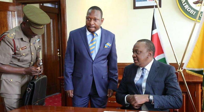 Uhuru takes action after Sonko refused to cooperate with NMS
