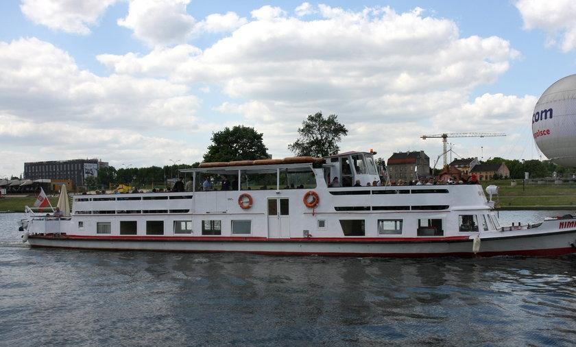 Krakowski tramwaj wodny
