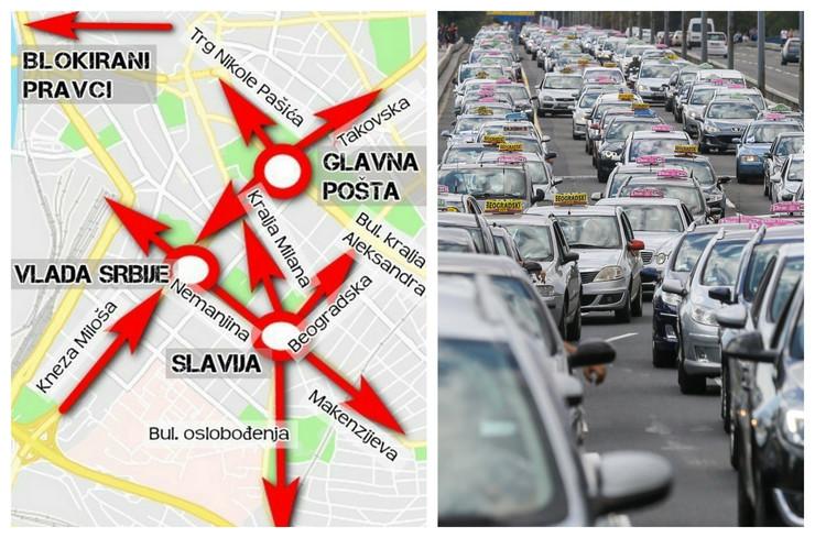blokada kombo taksisti