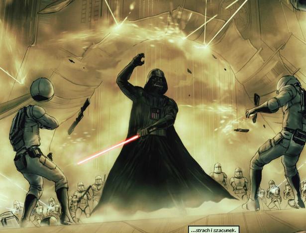 """Kadr z albumu """"Darth Vader i widmowe więzienie"""""""