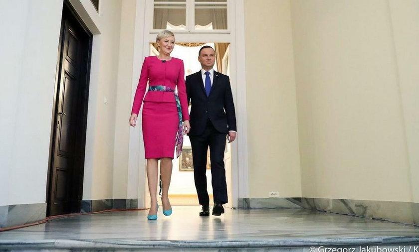 Prezydent uznał wyższość żony.