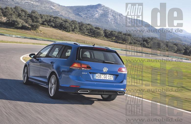 Volkswagen Golf VII po liftingu