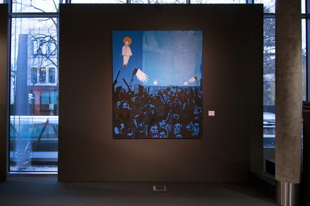 """""""Kibole/Mościce"""" to jedno z wielu kultowych dzieł, które pójdą pod młotek podczas marcowej aukcji Sztuka Współczesna."""