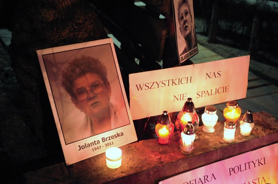 Śmierc Jolanty Brzeskiej