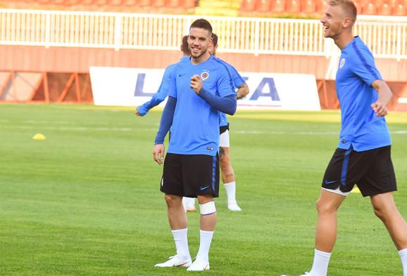 Mihailo Ristić je bio odlično raspoložen