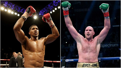 Anthony Joshua labels Tyson Fury 'a fraud' with their fight in danger of being ruled out because of a court ruling