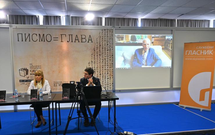 Promocija knjige Martina Risa - Jelena Trivan, Kosta Zivanovic i Martin