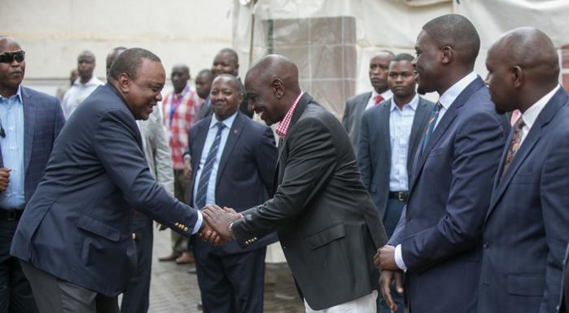 Why Uhuru left Sunday function attended by DP Ruto mid-way in a hurry