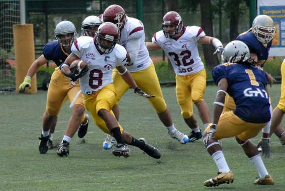Arhivska fotografija, Foto:Srpska asocijacija američkog fudbala