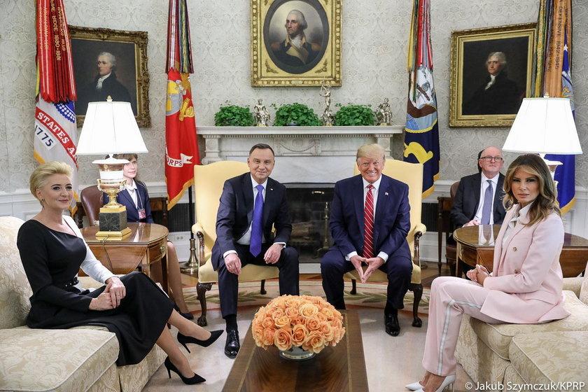 Wizyta pary prezydenckiej w Białym Domu