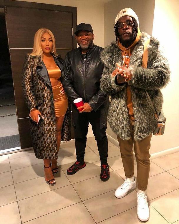 Stefflon Don and Burna Boy were recently spotted by showbiz entrepreneur, Paul Okoye [Instagram/paulokoye]