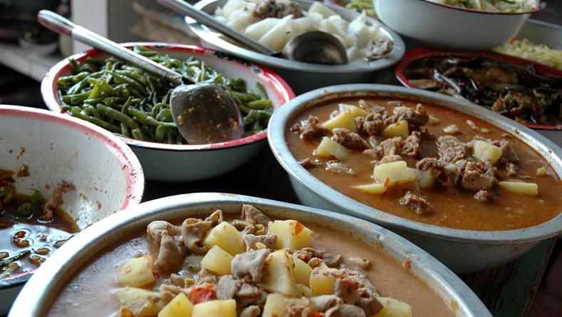 Prawdziwe Chińskie Jedzenie Podróże