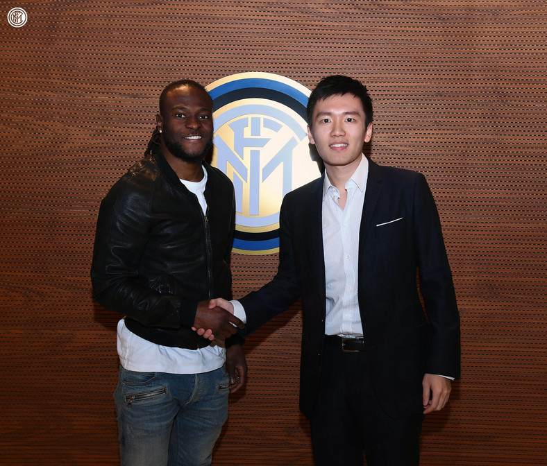 Inter have the option to sign Victor Moses on a permanent deal in the summer (Twitter/Inter Milan)