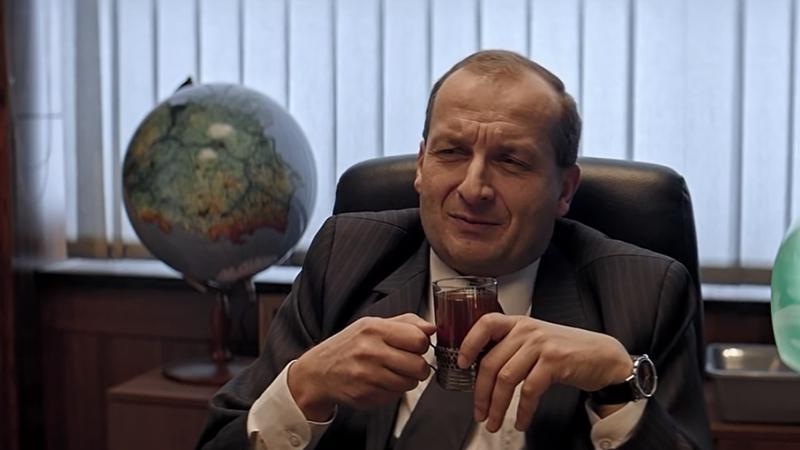 """""""Ucho prezesa"""" - kadr z serialu"""