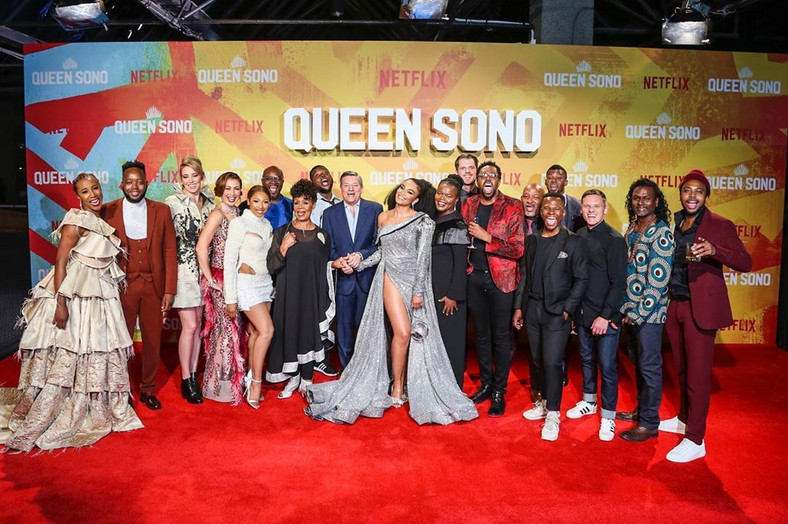 Sauti Sol makes history as the feature in Netflix's first African original series Queen Sono
