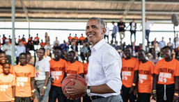 Barack Obama has joined the NBA Africa team (Giants of Africa)
