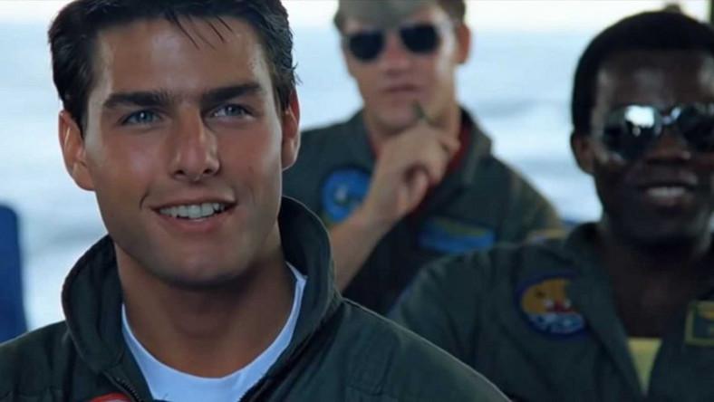 """Tom Cruise w filmie """"Top Gun"""""""