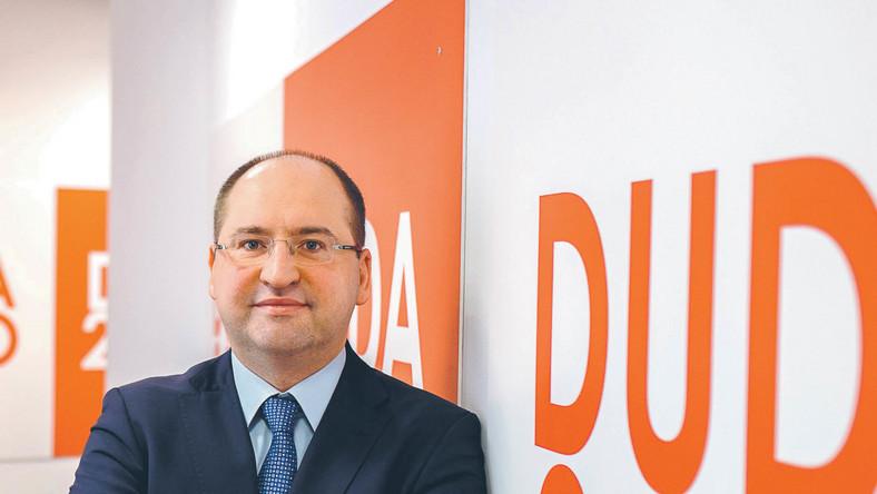 Adam Bielan, rzecznik prasowy sztabu Andrzeja Dudy