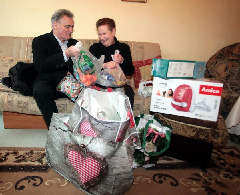 Przewodniczący Rady Miasta Gdańska Bogdan Oleszek wspiera Świąteczną Akcje Faktu od samego początku