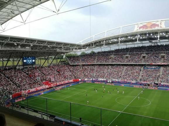 Detalj sa meča Lajpcig - FK Bajern